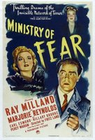Ministry of Fear movie poster (1944) picture MOV_47998cf5