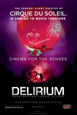 Cirque du Soleil: Delirium movie poster (2008) poster MOV_479a185a