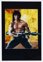 Rambo: First Blood Part II movie poster (1985) picture MOV_47a65ba0