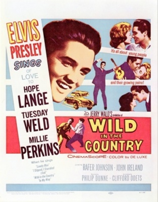 Wild in the Country movie poster (1961) poster MOV_47c23e8e