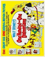 One Hundred and One Dalmatians movie poster (1961) picture MOV_47c4b667