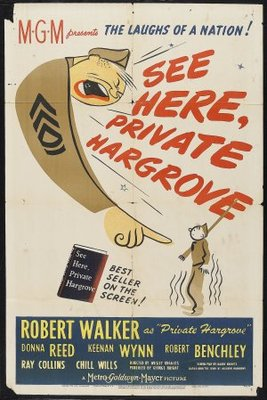 See Here, Private Hargrove movie poster (1944) poster MOV_47ca0553