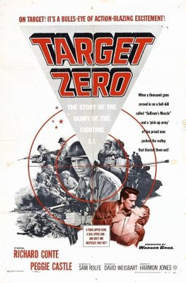 Target Zero movie poster (1955) poster MOV_47cd5ea4