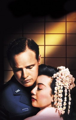 Sayonara movie poster (1957) poster MOV_47e30b55