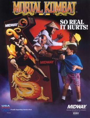 Mortal Kombat movie poster (1992) poster MOV_47f6a8a8