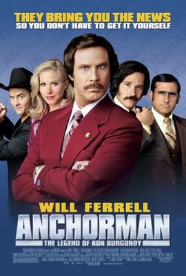Anchorman: The Legend of Ron Burgundy movie poster (2004) poster MOV_483813c2