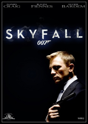 Skyfall movie poster (2012) poster MOV_483f10d3