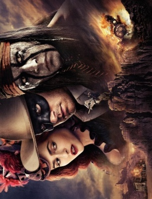 The Lone Ranger movie poster (2013) poster MOV_484dd1a2