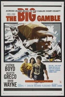The Big Gamble movie poster (1961) poster MOV_489150fe