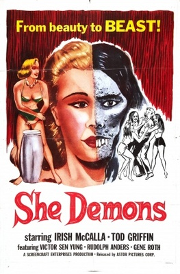 She Demons movie poster (1958) poster MOV_4893f17d