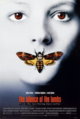 The Silence Of The Lambs movie poster (1991) poster MOV_48a69ae9