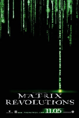 The Matrix Revolutions movie poster (2003) poster MOV_48b1b5d6