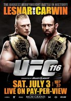 UFC 116: Lesnar vs. Carwin movie poster (2010) picture MOV_48b67d47