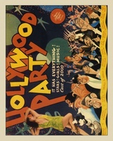 Hollywood Party movie poster (1934) picture MOV_48c7428b