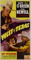 West of Texas movie poster (1943) picture MOV_48e85ccc