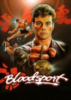 Bloodsport movie poster (1988) picture MOV_490b4562
