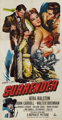 Surrender movie poster (1950) poster MOV_49297af4