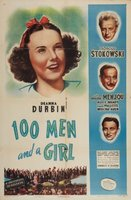 One Hundred Men and a Girl movie poster (1937) picture MOV_492b7ed1
