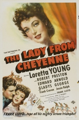 The Lady from Cheyenne movie poster (1941) poster MOV_493bfd32