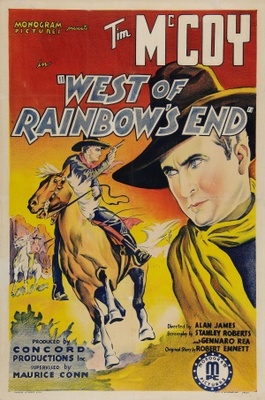 West of Rainbow's End movie poster (1938) poster MOV_49414ea8