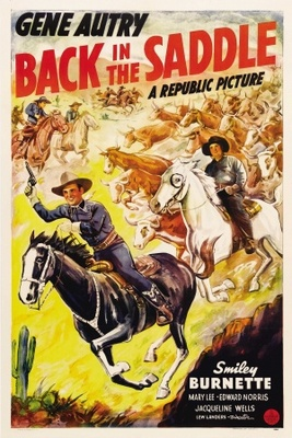 Back in the Saddle movie poster (1941) poster MOV_496b031e