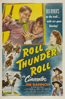 Roll, Thunder, Roll! movie poster (1949) poster MOV_49742146