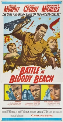 Battle at Bloody Beach movie poster (1961) poster MOV_497c0f02