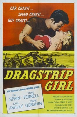 Dragstrip Girl movie poster (1957) poster MOV_498c4c20