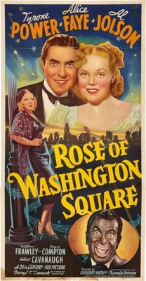 Rose of Washington Square movie poster (1939) poster MOV_49a63e92