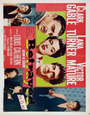 Betrayed movie poster (1954) poster MOV_49aa2535