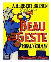Beau Geste movie poster (1926) picture MOV_49c24a94