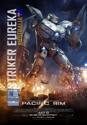 Pacific Rim movie poster (2013) poster MOV_49d9ae5c