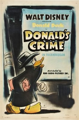 Donald's Crime movie poster (1945) poster MOV_49e0e7ea