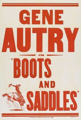 Boots and Saddles movie poster (1937) poster MOV_49e46e31