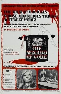 The Wizard of Gore movie poster (1970) poster MOV_49f8a6db