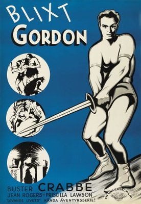 Flash Gordon movie poster (1936) poster MOV_4a0ab293