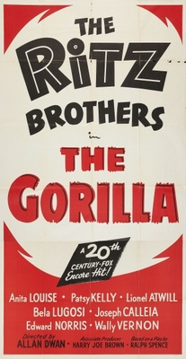 The Gorilla movie poster (1939) poster MOV_4a146f3b