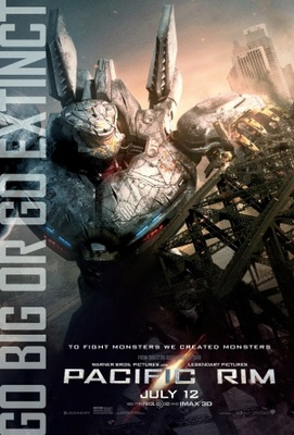 Pacific Rim movie poster (2013) poster MOV_4a39d4a1