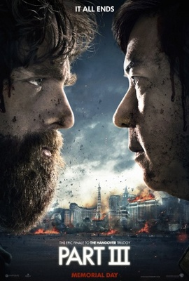 The Hangover Part III movie poster (2013) poster MOV_4a3e577d