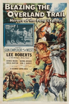Blazing the Overland Trail movie poster (1956) poster MOV_4a497463