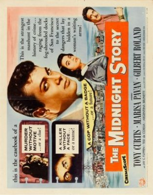 The Midnight Story movie poster (1957) poster MOV_4a49f02b