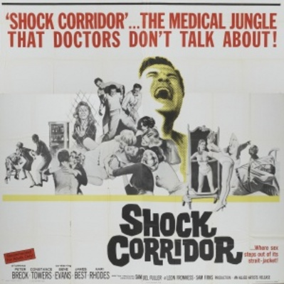 Shock Corridor movie poster (1963) poster MOV_4a556d22