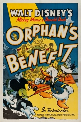 Orphan's Benefit movie poster (1934) poster MOV_4a5b3885