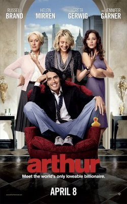 Arthur movie poster (2011) poster MOV_4a7437f9