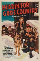 Headin' for God's Country movie poster (1943) picture MOV_4a775caf