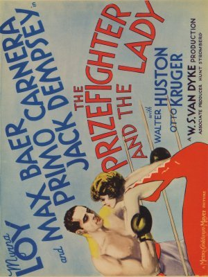 The Prizefighter and the Lady movie poster (1933) poster MOV_4ab1f498