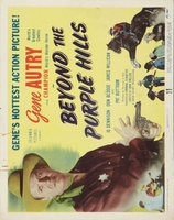 Beyond the Purple Hills movie poster (1950) picture MOV_4ab42605