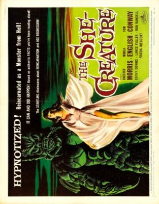 The She-Creature movie poster (1956) poster MOV_4abac176