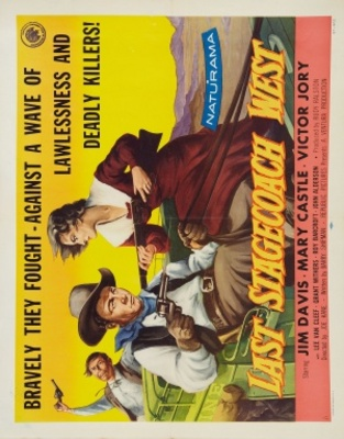 The Last Stagecoach West movie poster (1957) poster MOV_4ac8dafb
