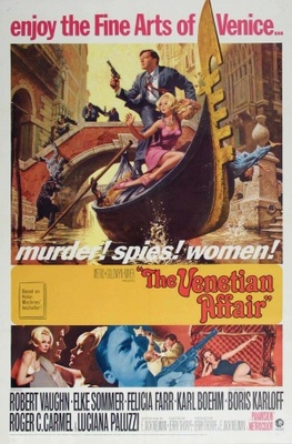 The Venetian Affair movie poster (1967) poster MOV_4ac9b152